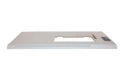 PVC白面斜边板