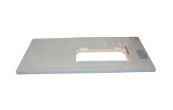 灰色PVC封边灰布纹台板