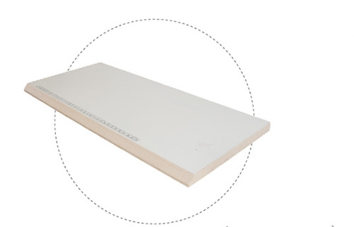 斜边PVC台板